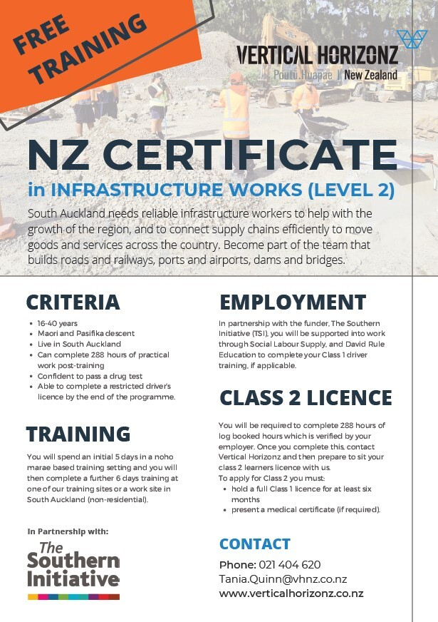 FREE TRAINING - Infrastructure Works