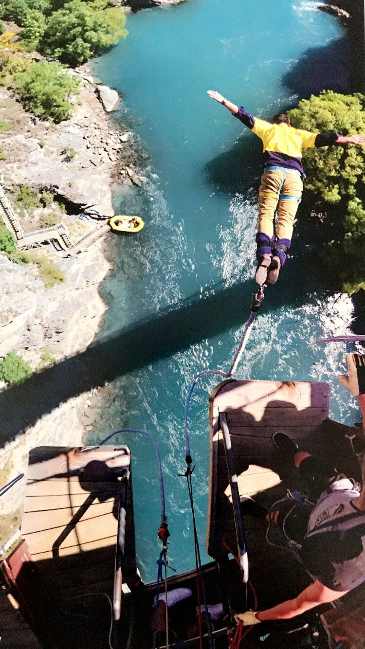 Jumping off Bridges for Fun with AJ Hackett Bungy