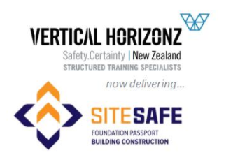 Vertical Horizonz now delivering Site Safe Foundation Passport