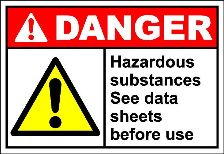 Hazardous Substances - Documentation and Record Keeping