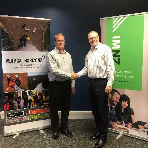 Vertical Horizonz New Zealand in partnership with the Institute of Management New Zealand