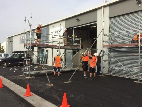 Low Level Scaffolding Course Christchurch