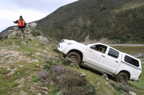 4WD Training with VHNZ