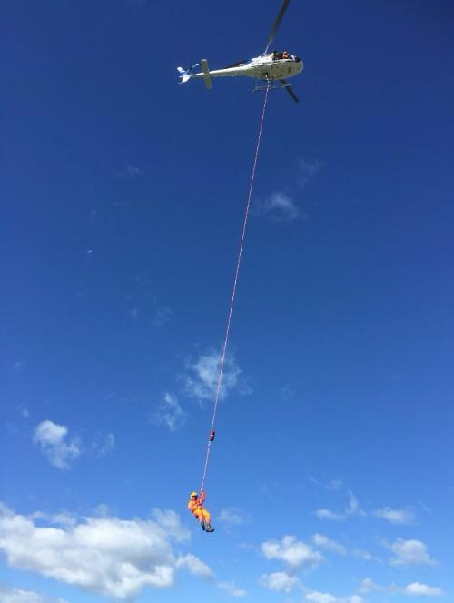 Persons Beneath Helicopters Training