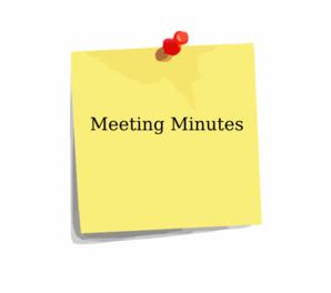What should I do with my Health and Safety Meeting Minutes?