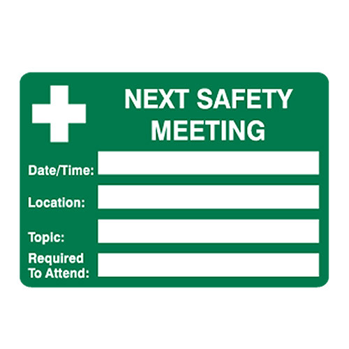 Why are Health and Safety meetings so important?