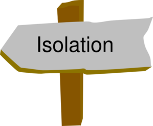 Why has isolation been removed from the hierarchy of controls?