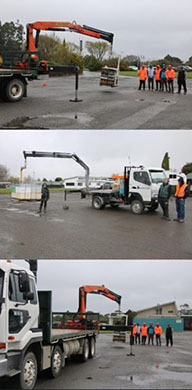 Truck Loader Crane Training