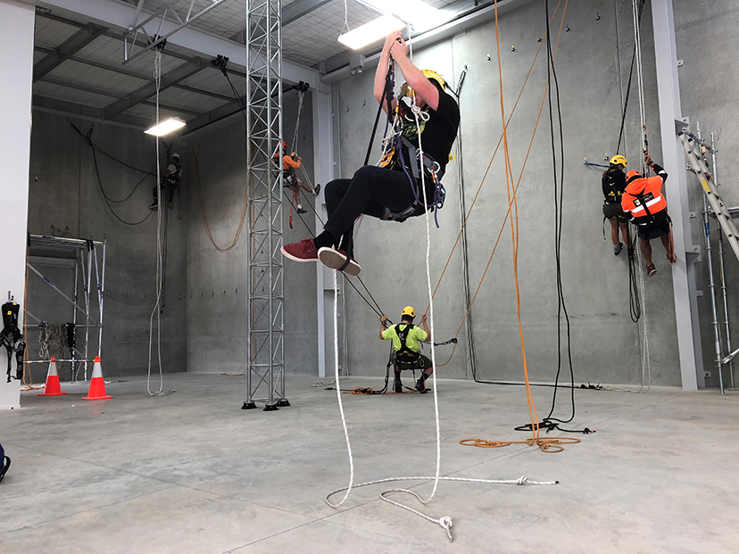 Albany Rope Access Training Facility now open!