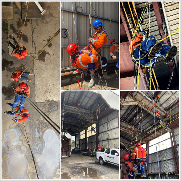 Rope Access Training New Plymouth